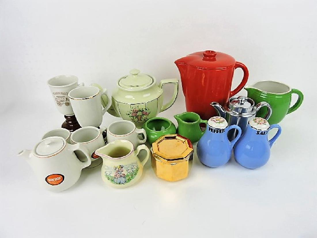 Hall China lot of 16 assorted items