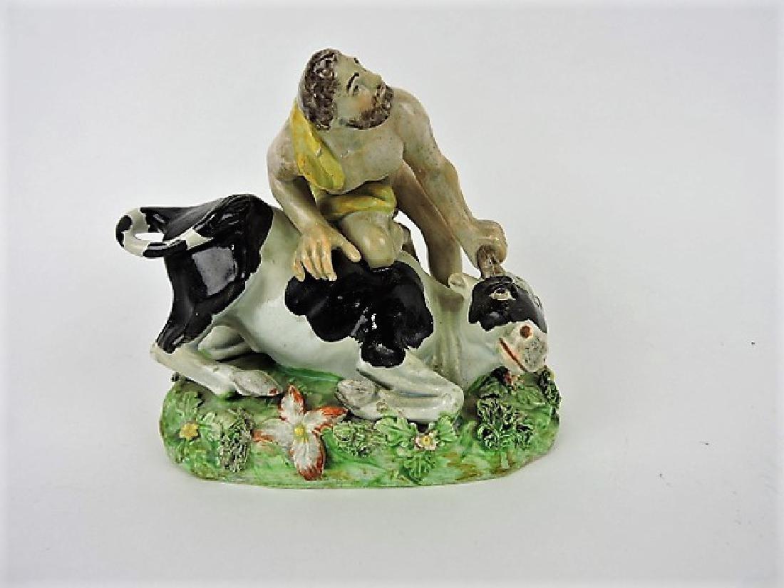 Staffordshire Pearlware mythological figure of