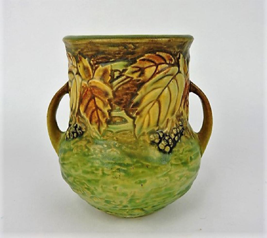 """Roseville Blackberry art pottery vase, 570-5"""""""