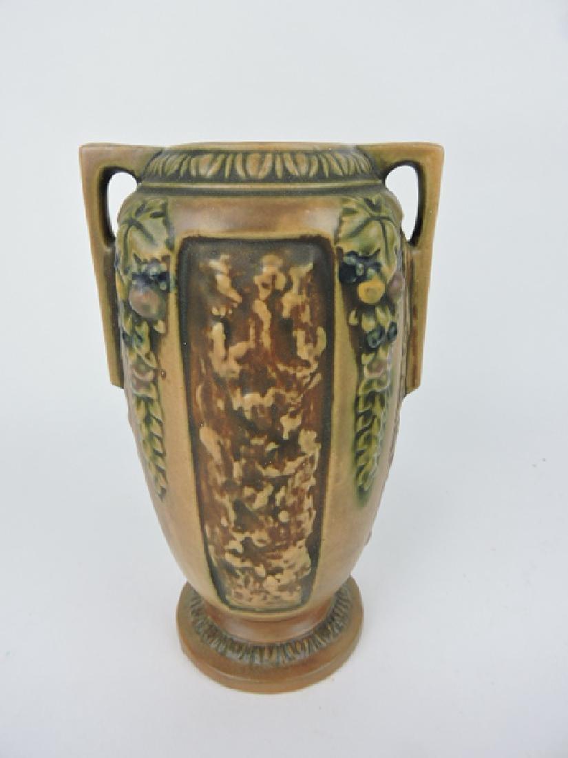 """Roseville Florentine art pottery vase, 231-8"""""""