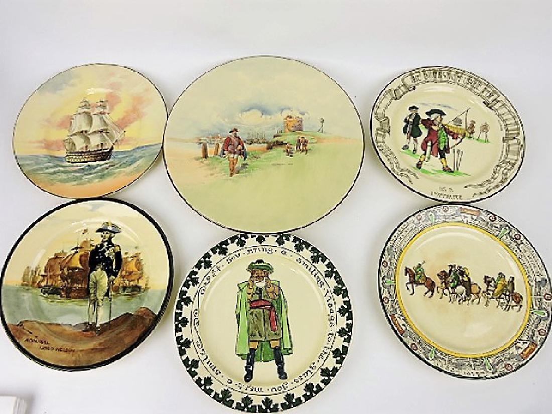 Royal Doulton lot of 6 plates