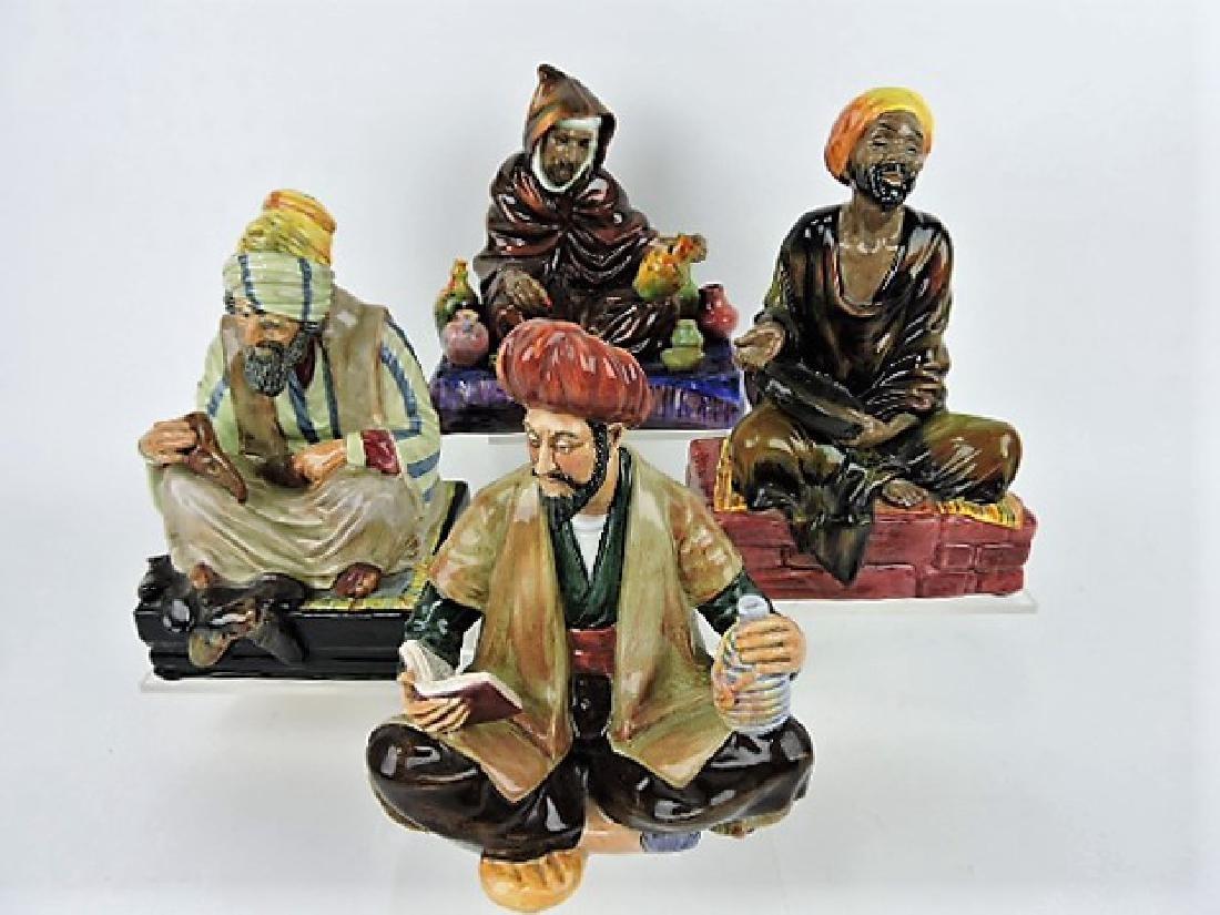 Royal Doulton lot of 4 figures: The Potter HN1493,