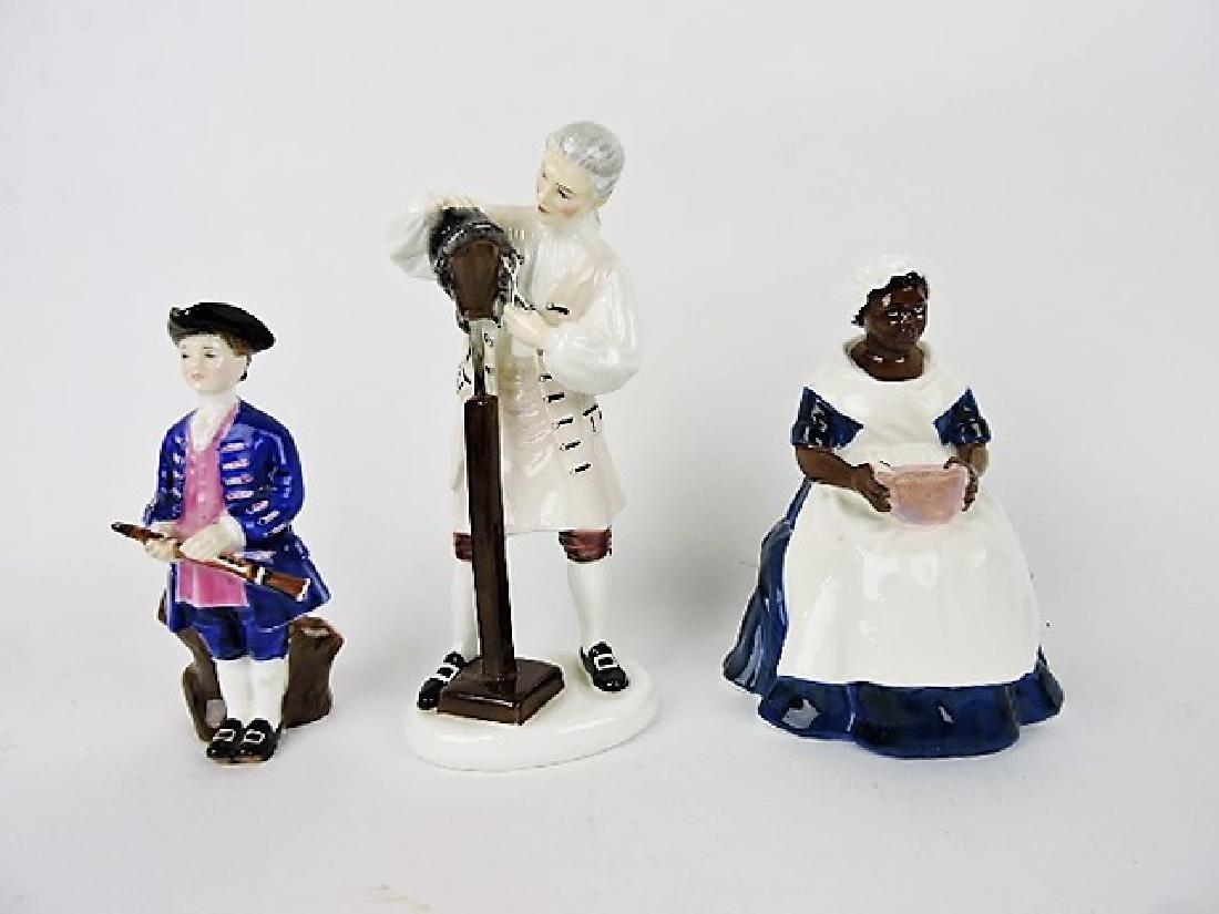 Royal Doulton WIlliamsburg Collection figures