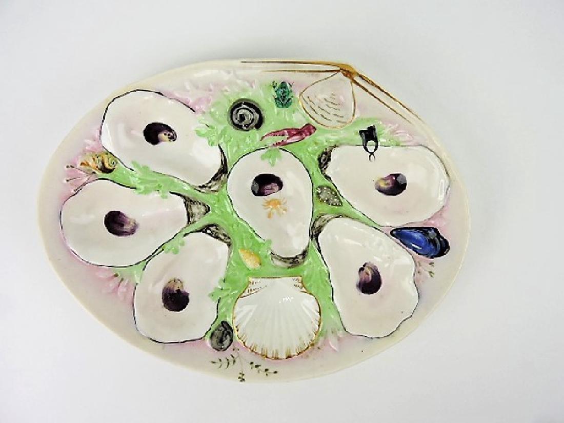 Union Porcelain Works (UPW) large clam shape