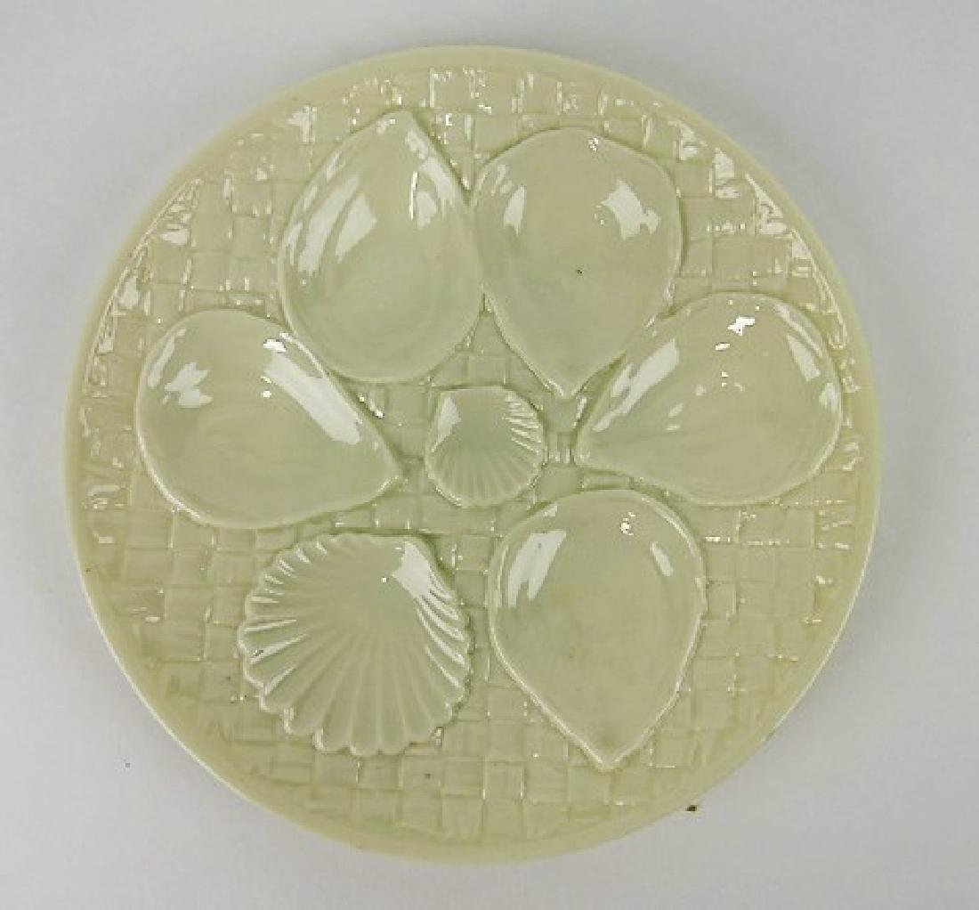 """Royal Worcester porcelain 8 1/2"""" oyster plate"""