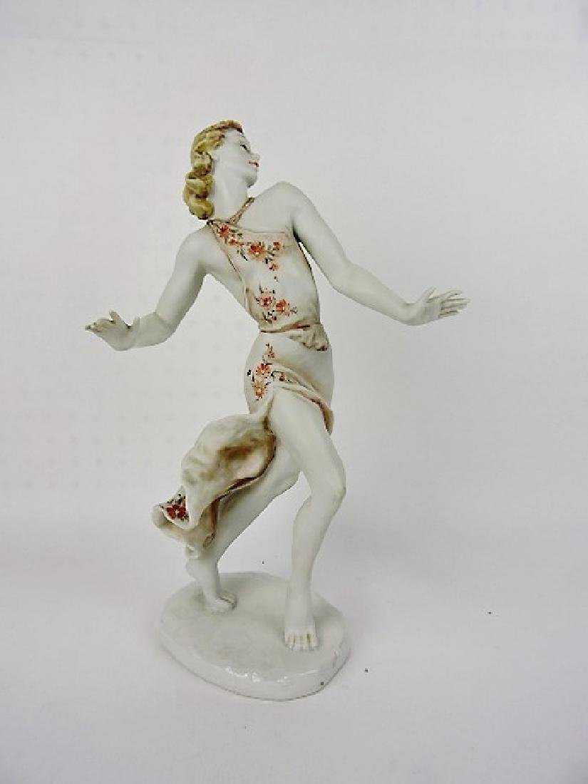 """Rosenthal figure of a lady, 15"""""""