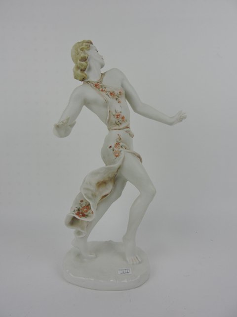"""Rosenthal figure of a lady, 15"""" - 2"""