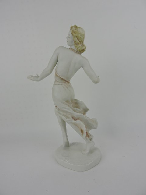 """Rosenthal figure of a lady, 15"""" - 4"""