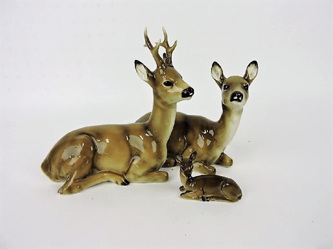 Hutschenreuther porcelain deer group