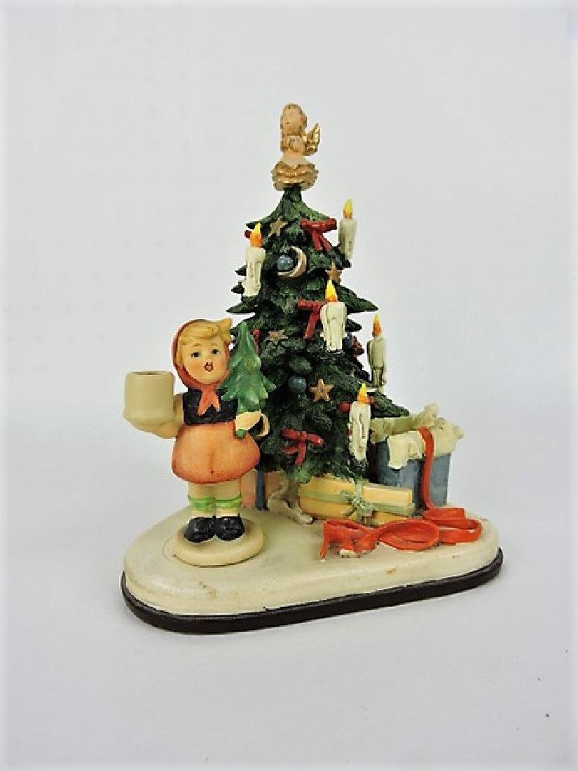 """Hummels """"Christmas Surprise"""" music box , with box"""