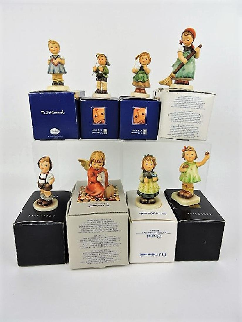 Hummel lot of 8 figurines with boxes