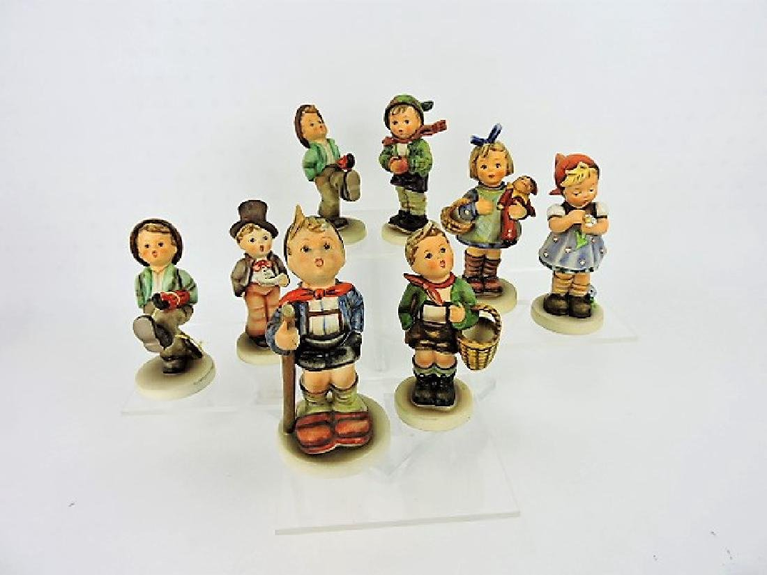 Hummel lot of 8 figurines