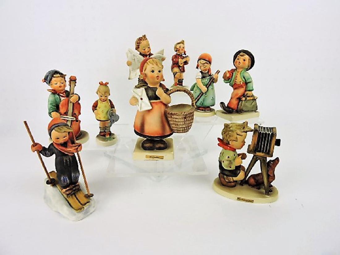 Hummel lot of 9 figurines