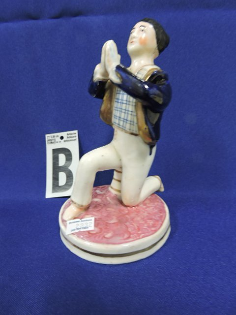 """Staffordshire lot of 6 figures of people, 6 1/4"""" - 3"""