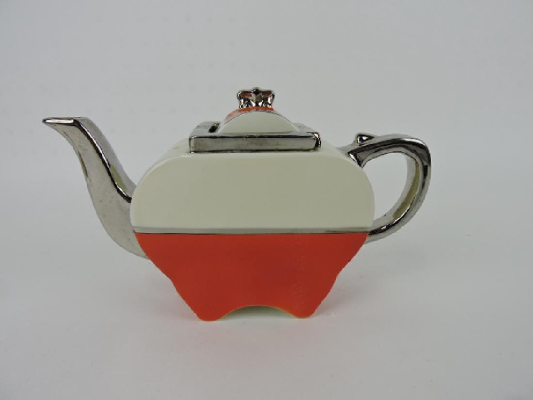 Fraunfelter Art Deco porcelain teapot
