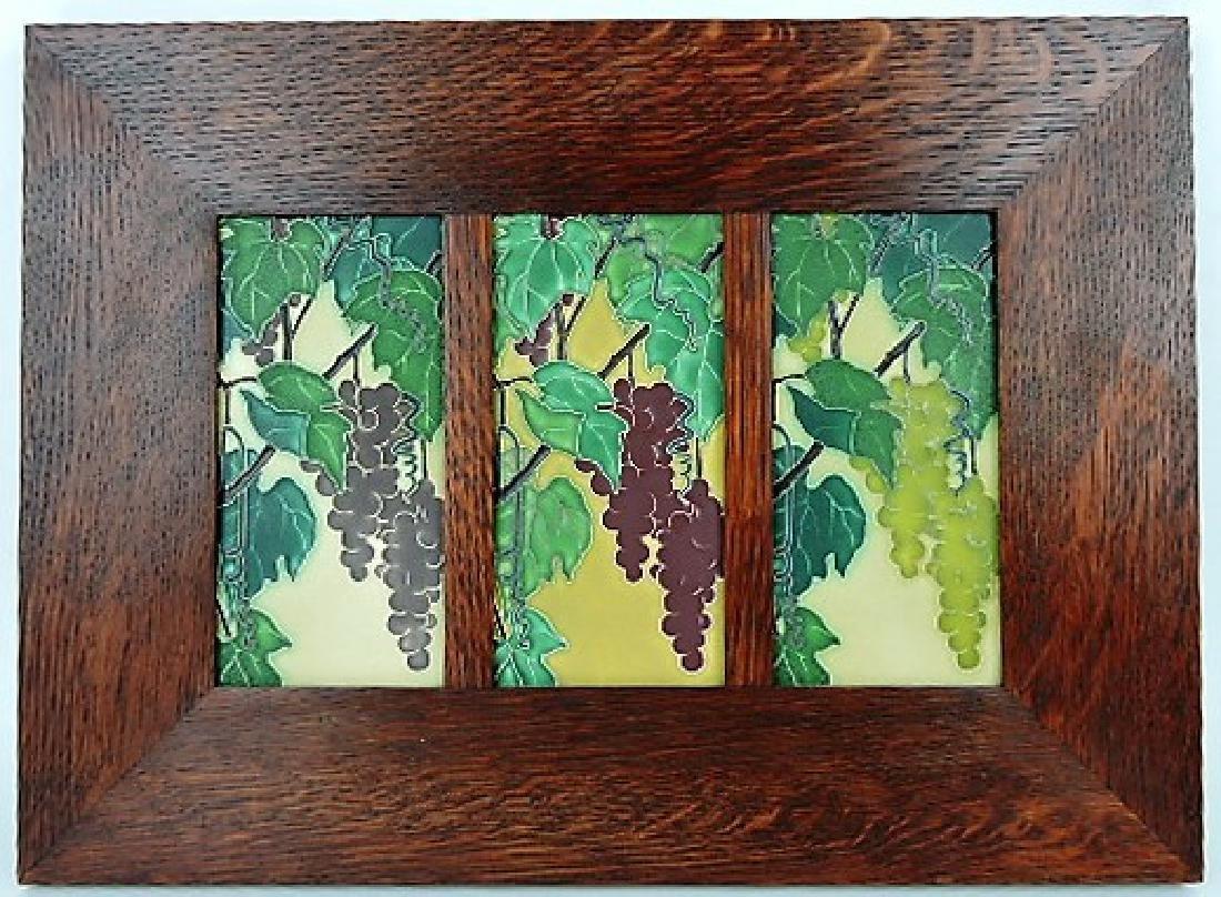 Motawi Tile Works, Ann Arbor, MI Arts & Crafts oak