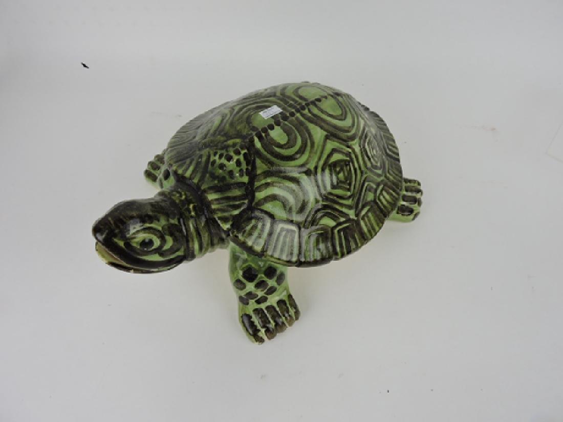 """Brush McCoy large turtle, 16"""" - 2"""