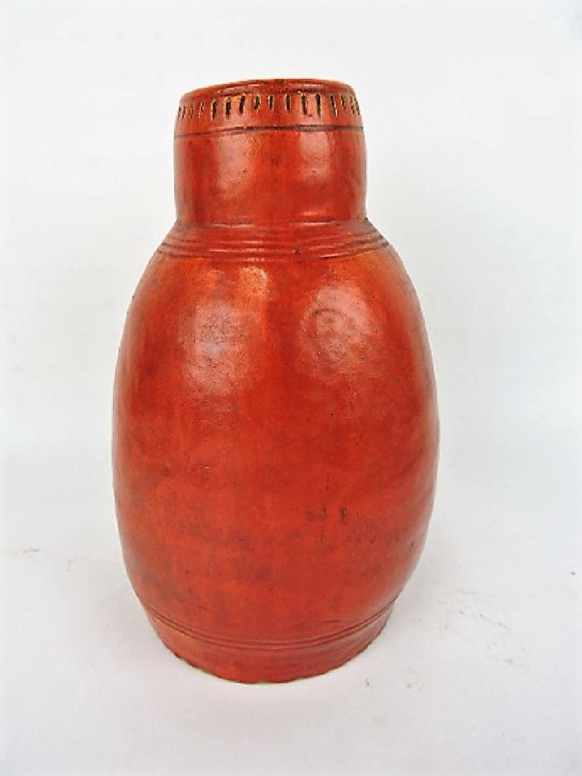 Hull House kilns hand thrown art pottery vase