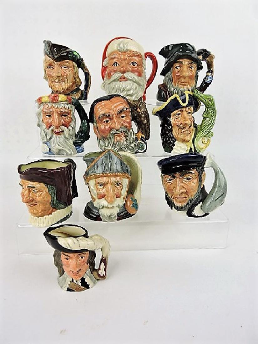 "Royal Doulton lot of 10-3"" tub, jugs"