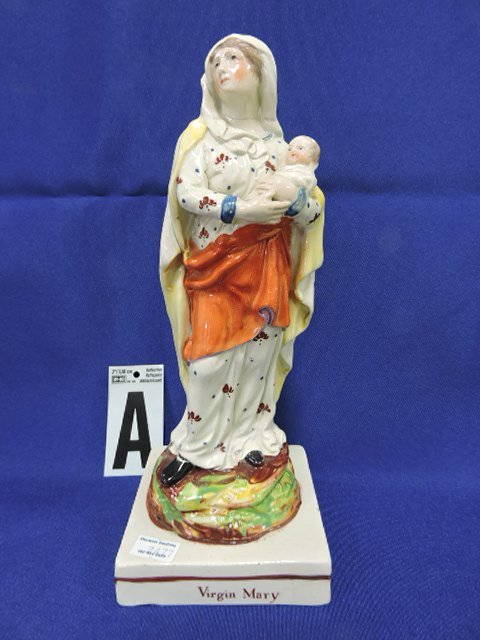 Staffordshire lot of 12 religious figures, - 2