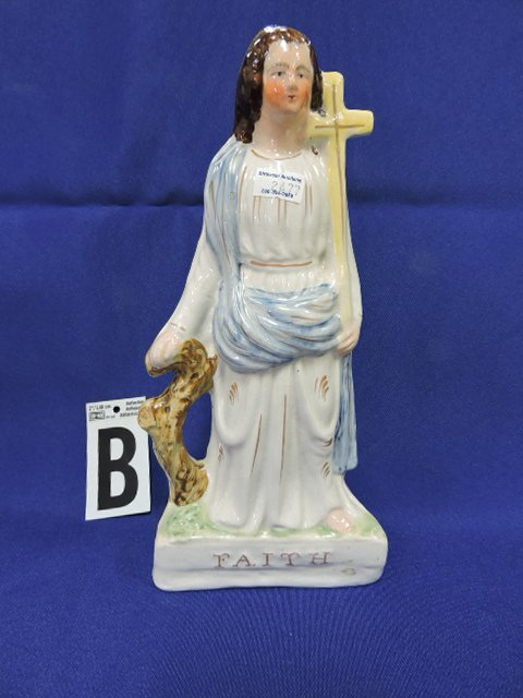 Staffordshire lot of 12 religious figures, - 3