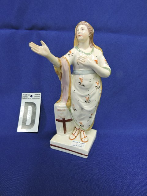 Staffordshire lot of 12 religious figures, - 5