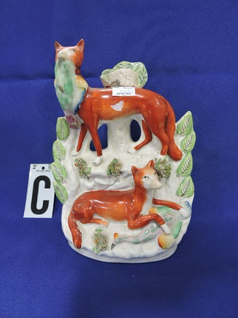 Staffordshire Pearlware lot of 8 figures of - 4