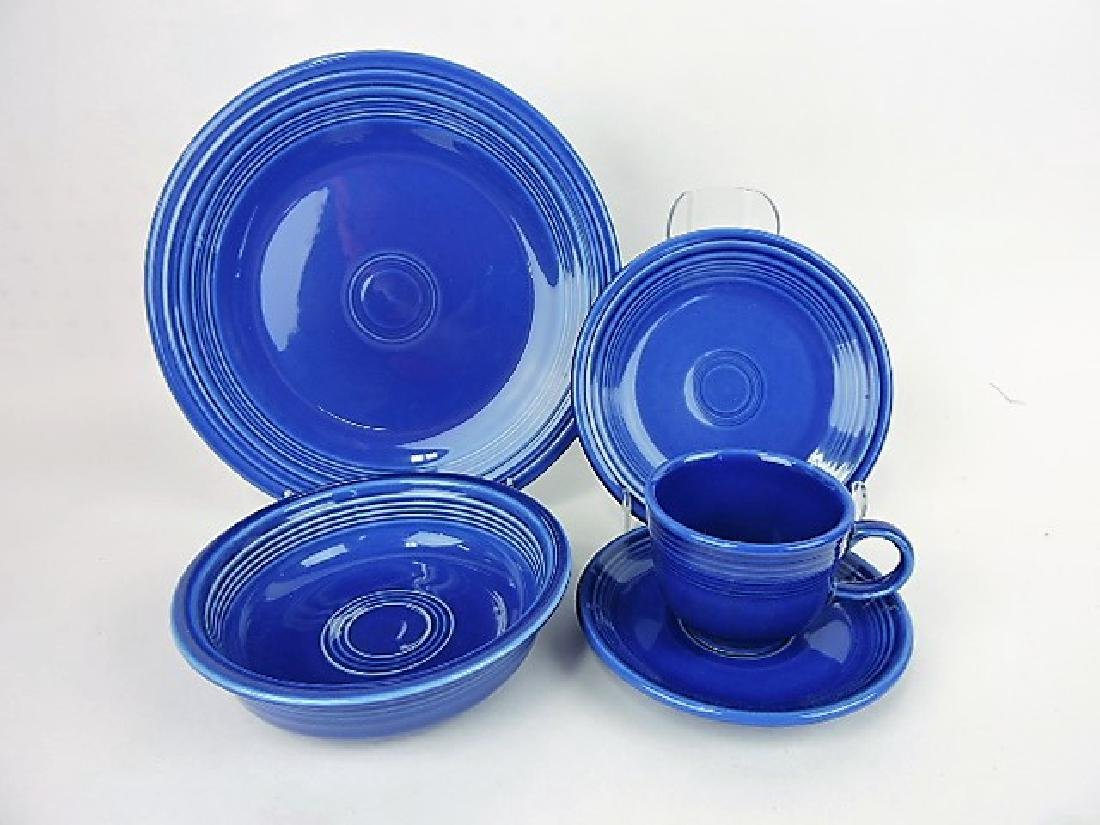 Fiesta Post 86 sapphire 4 - 5pc place settings,