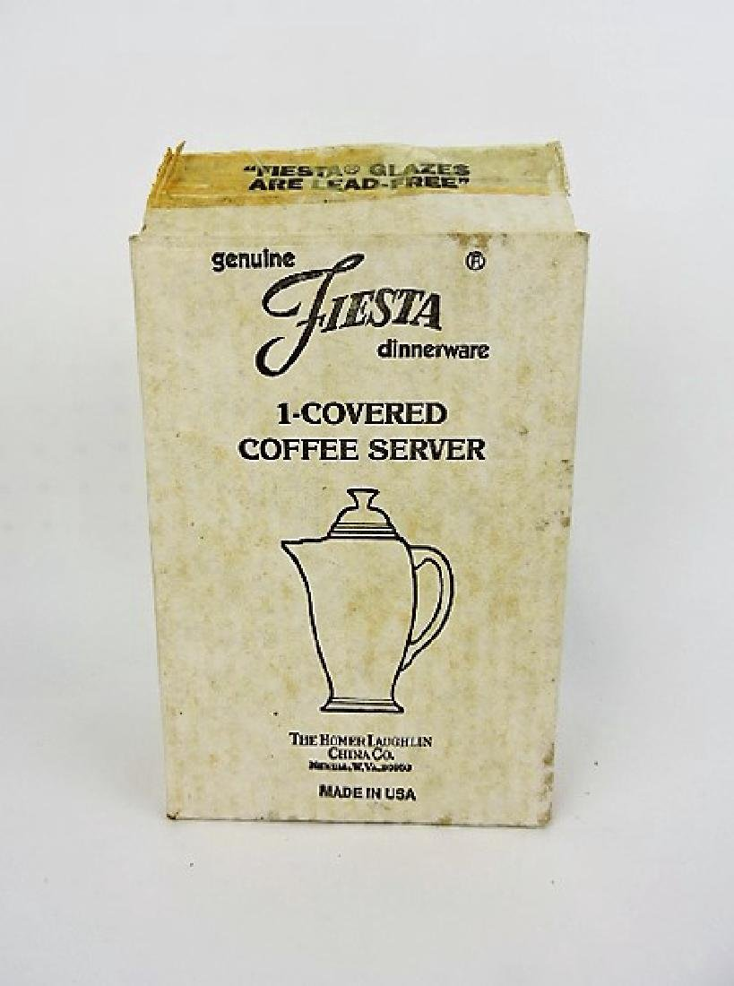 Fiesta Post 86 lilac coffee server NIB