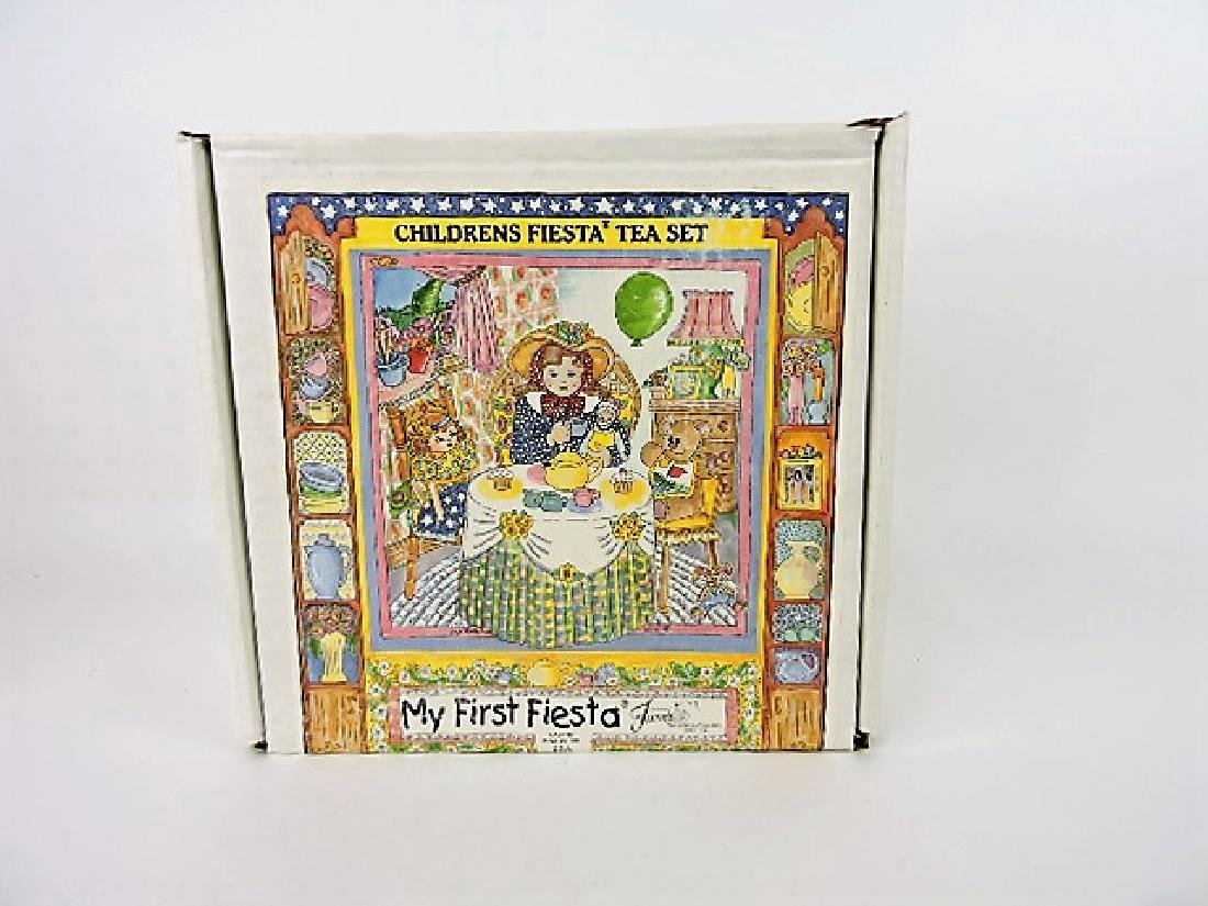 Fiesta Post 86  child's first fiesta tea set