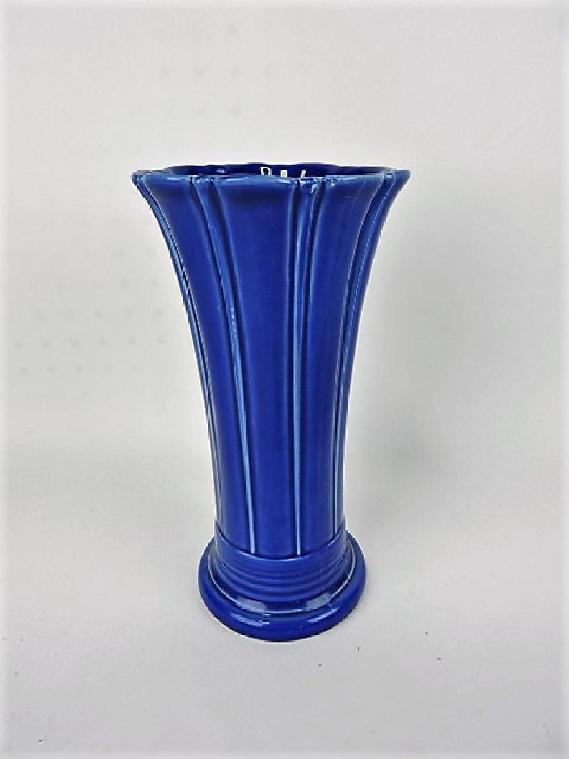 """Fiesta Post 86, sapphire 10"""" flower vase"""
