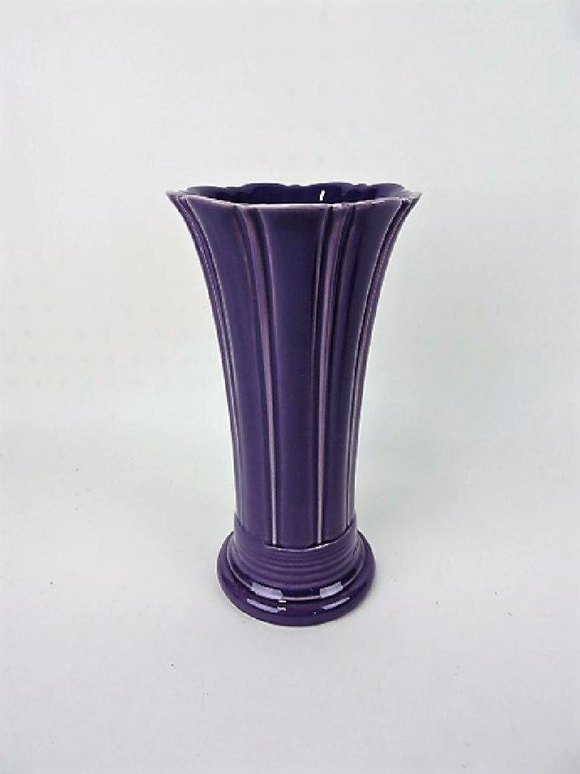 "Fiesta Post 86, lilac 10"" flower vase, NIB"