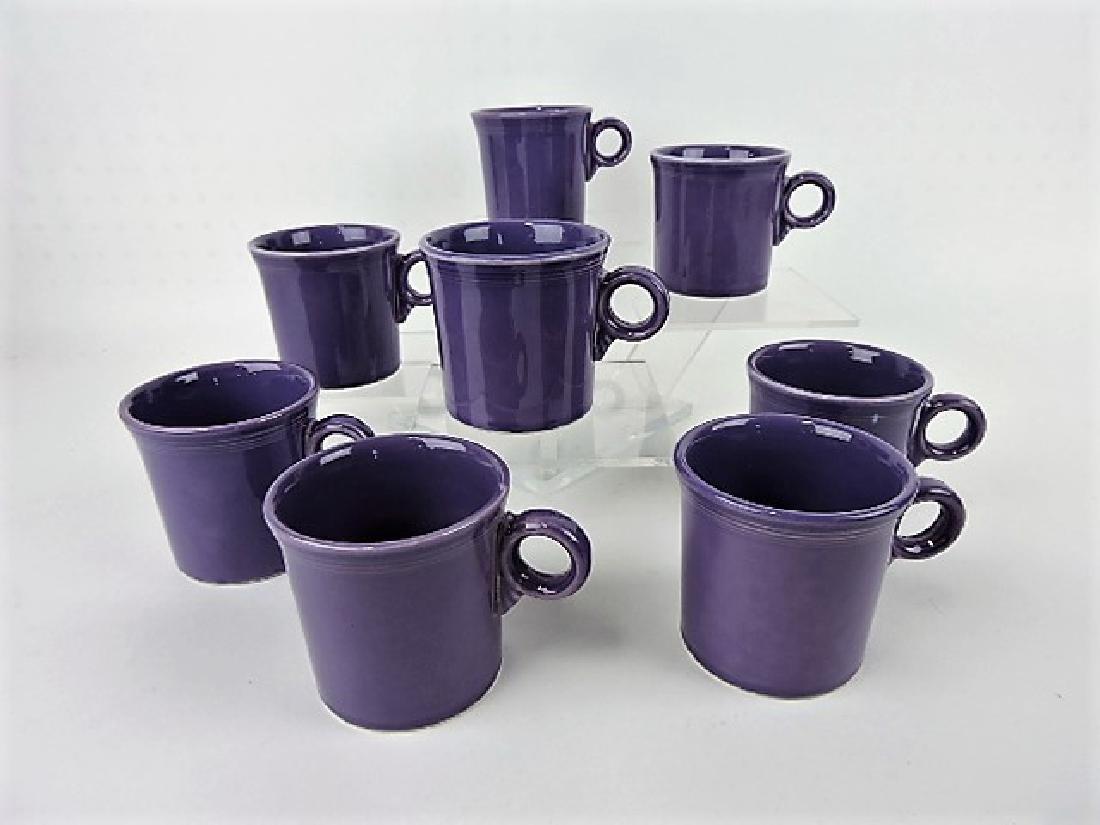 Fiesta Post 86, lilac lot of 8 mugs