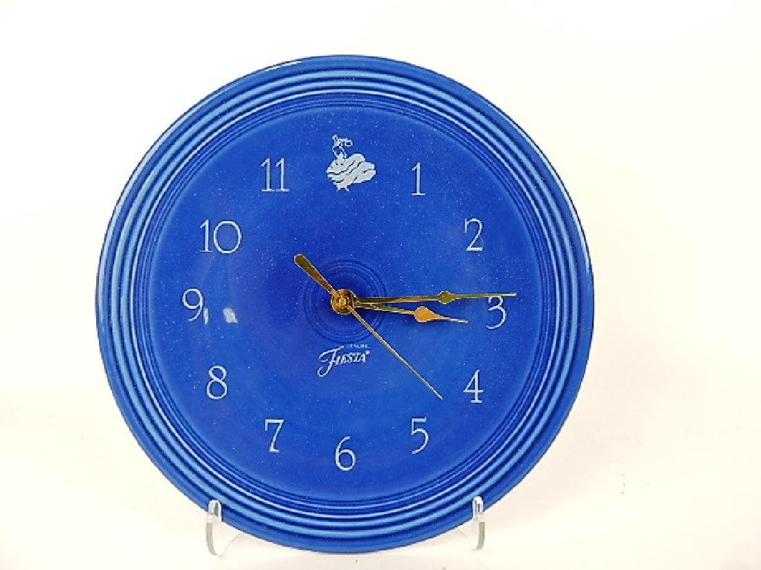 Fiesta Post 86, sapphire plate clock, NIB