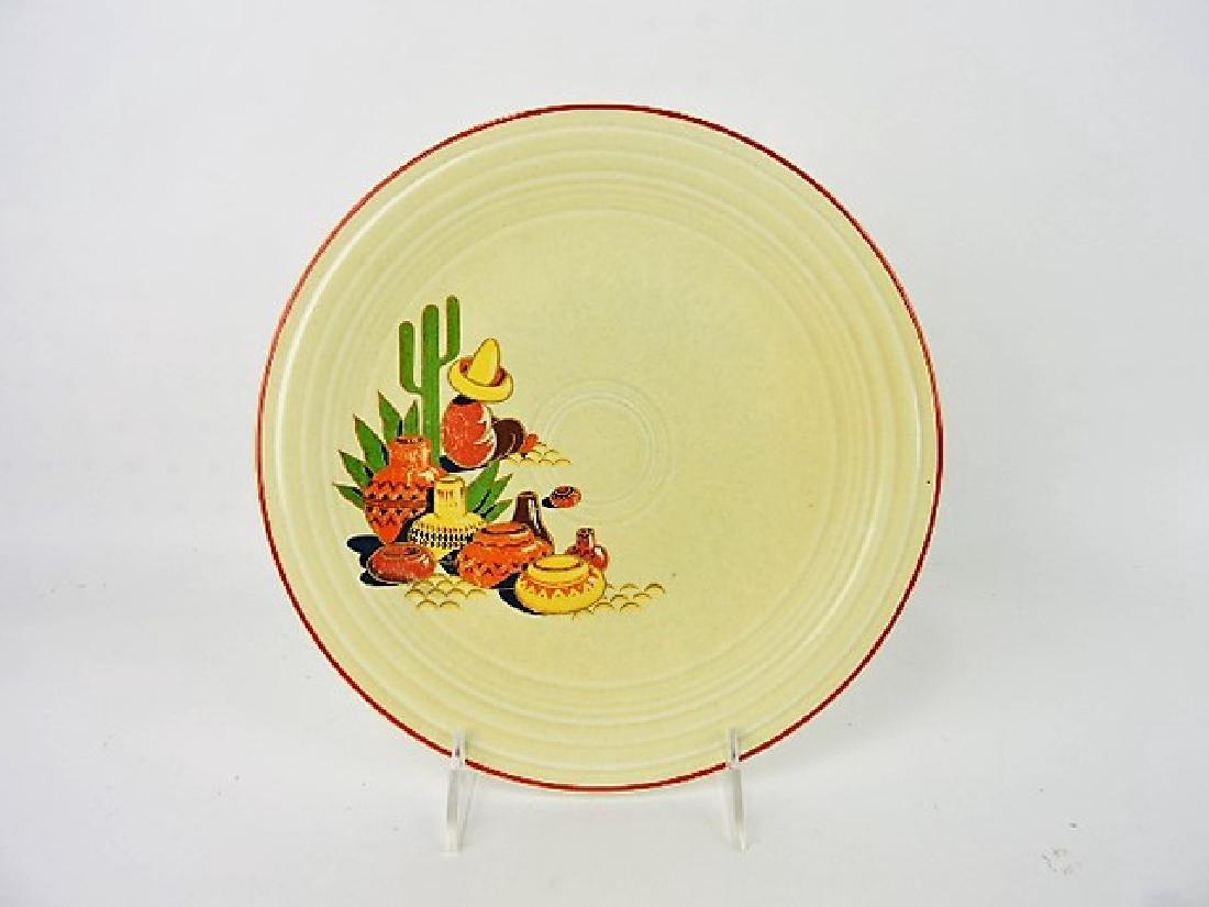 "Fiesta Mexicana 9"" plate, rare"