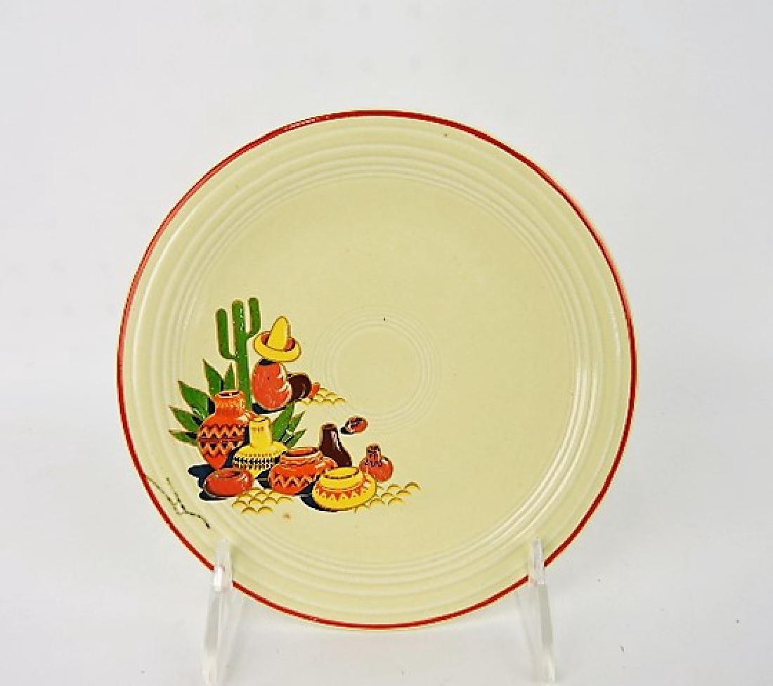 "Fiesta Mexicana 6"" plate, rare"