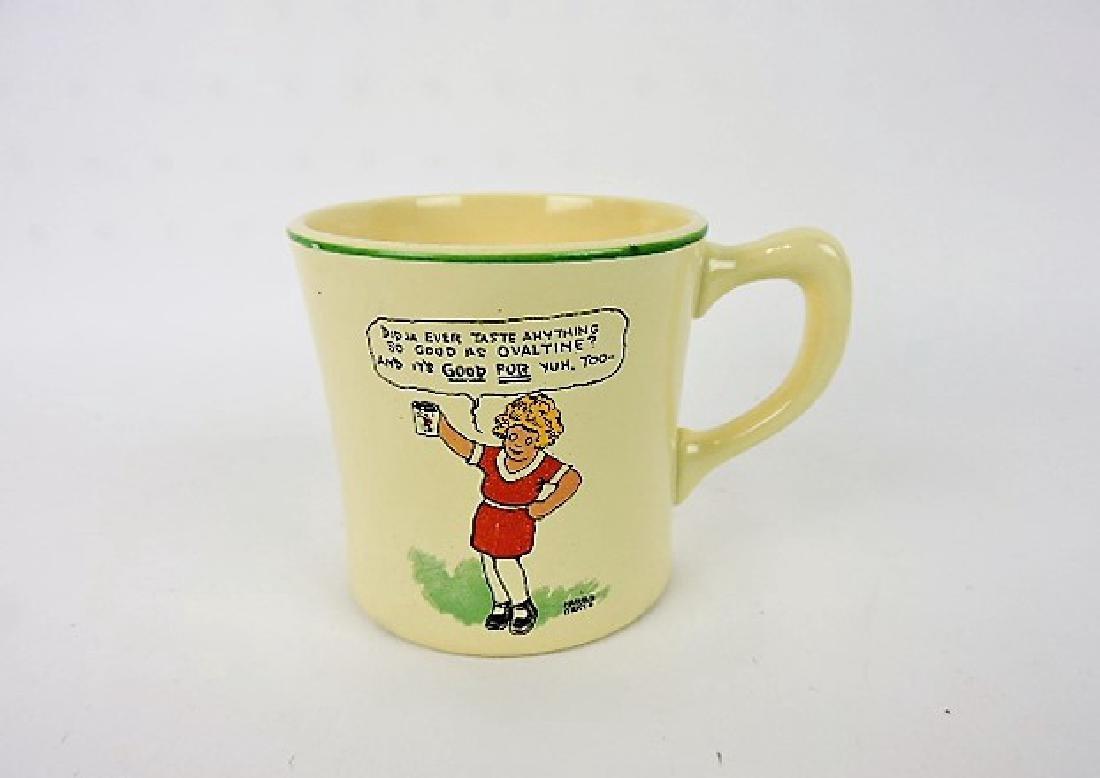 Fiesta Vintage Orphan Annie Ovaltine mug