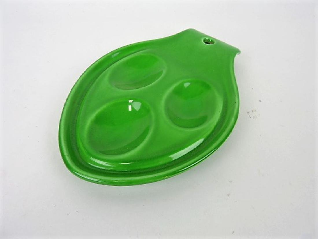 Fiesta Rhythm Rare medium green spoon rest