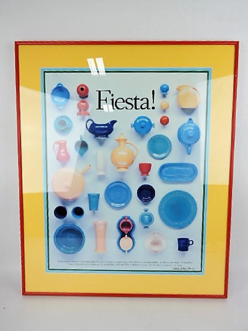 Fiesta framed poster