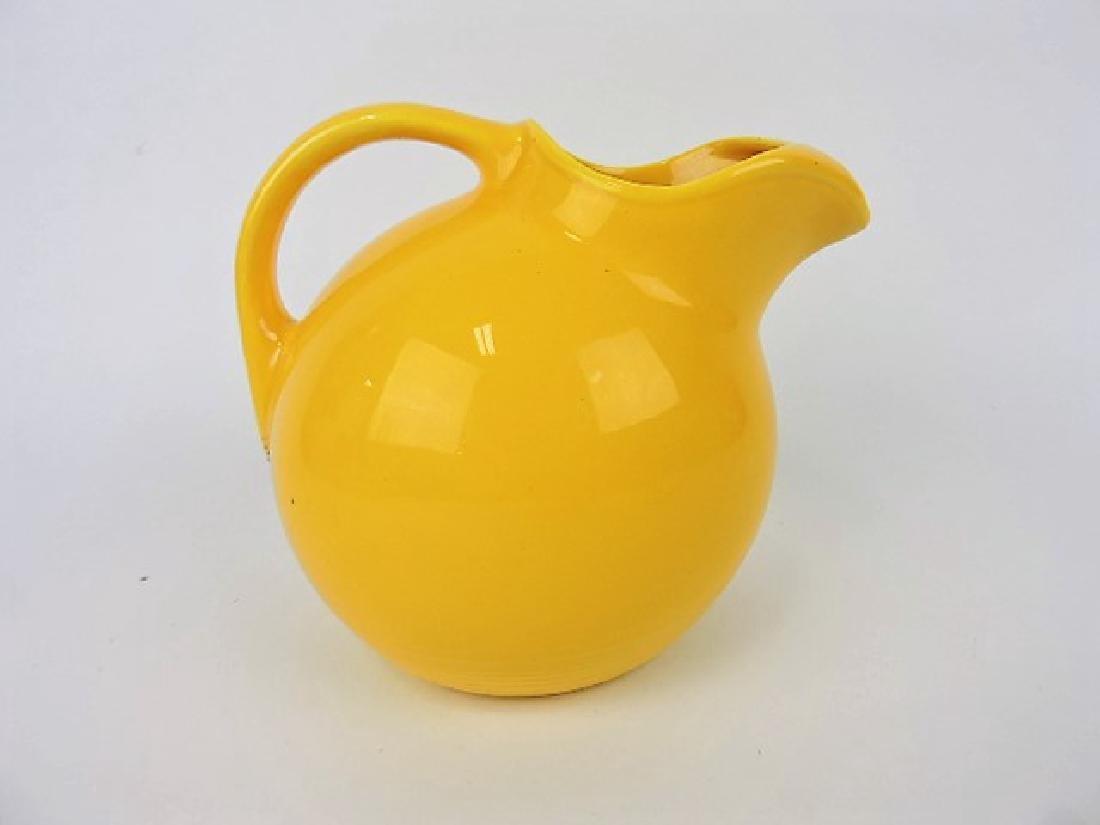 Fiesta Harlequin service water jug, yellow
