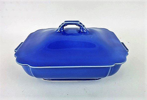 Fiesta Riviera casserole, mauve blue, scratch