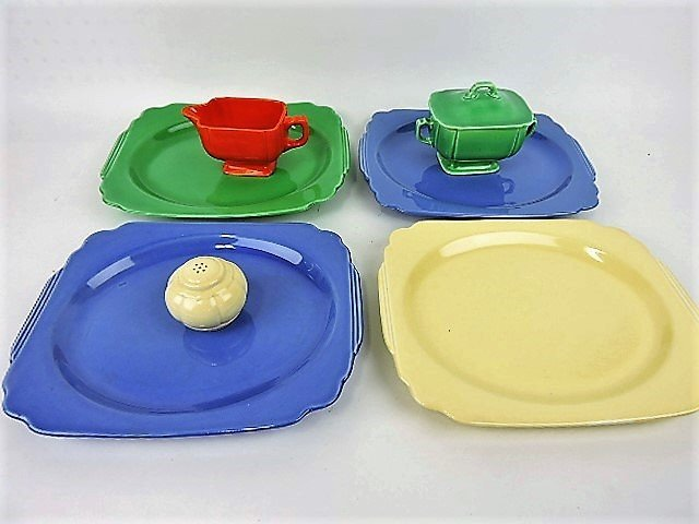 Fiesta Riviera lot of 7 assorted pieces
