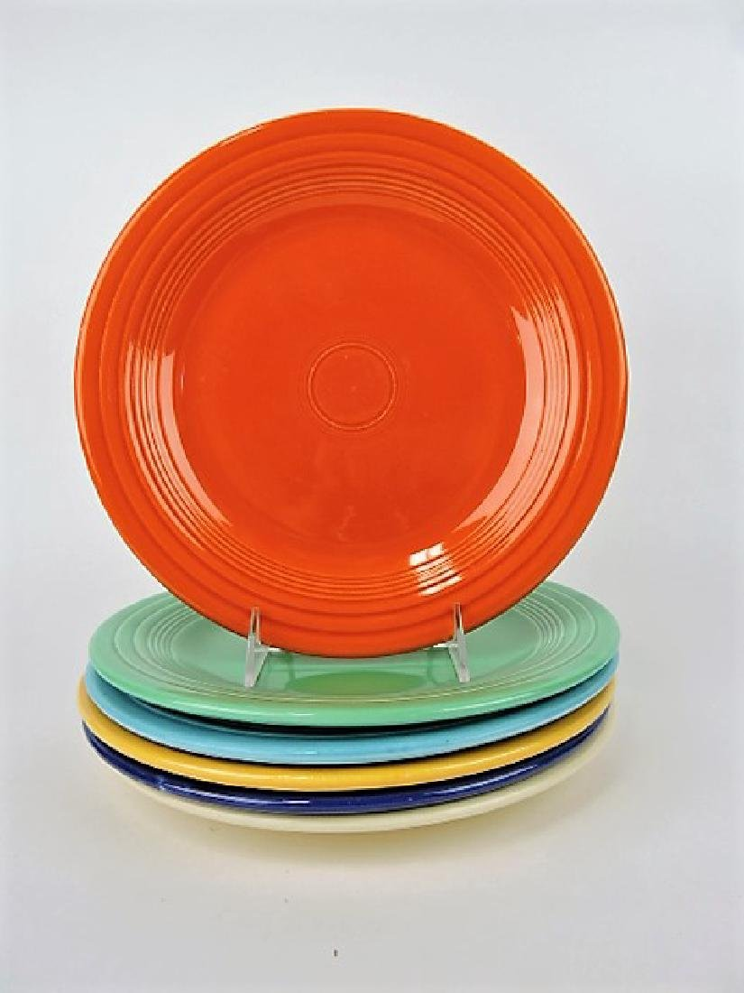 "Fiesta 10"" plate group, all 6 original colors"