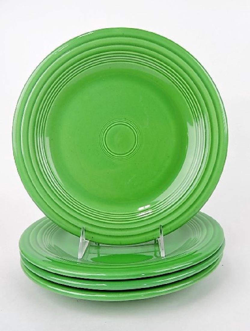 """Fiesta 10"""" plate group, 4 medium green"""