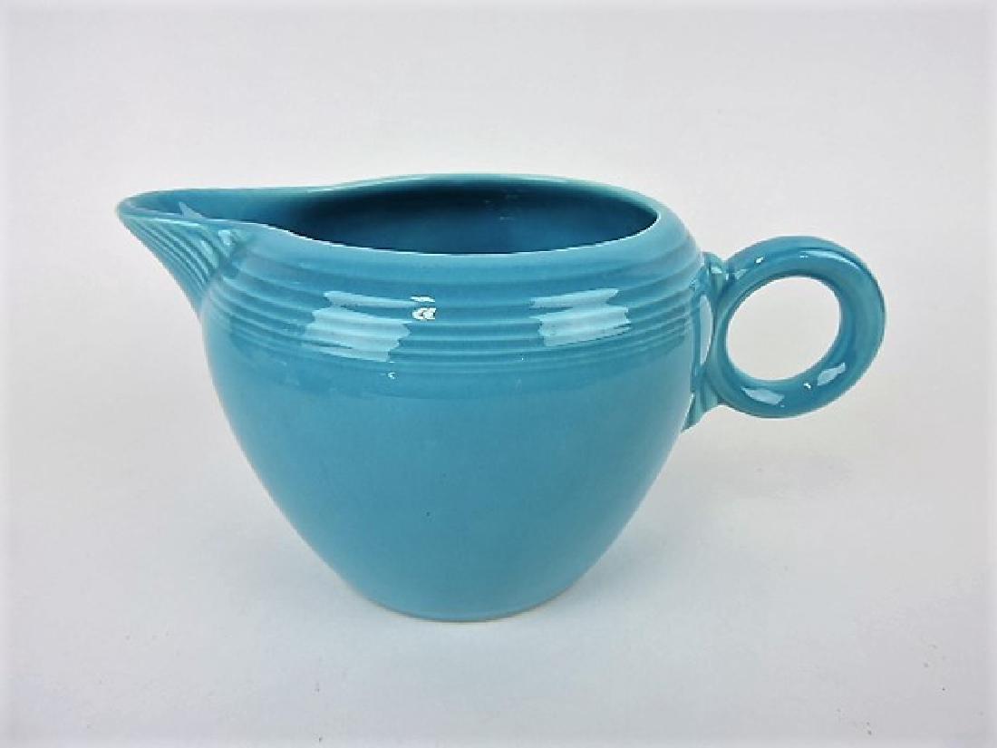 Fiesta two pint jug, turquoise