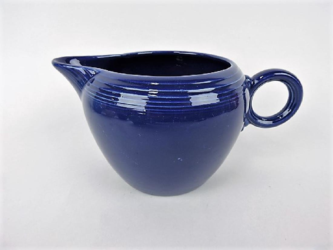 Fiesta two pint jug, cobalt