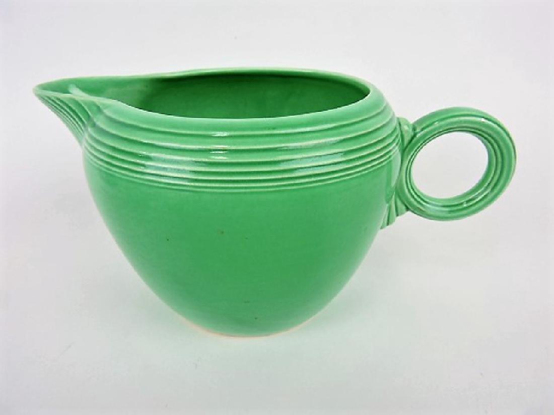 Fiesta two pint jug, green