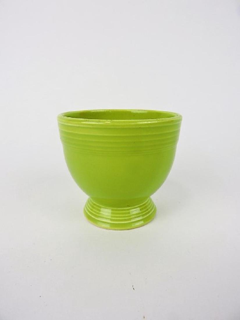 Fiesta egg cup, chartreuse