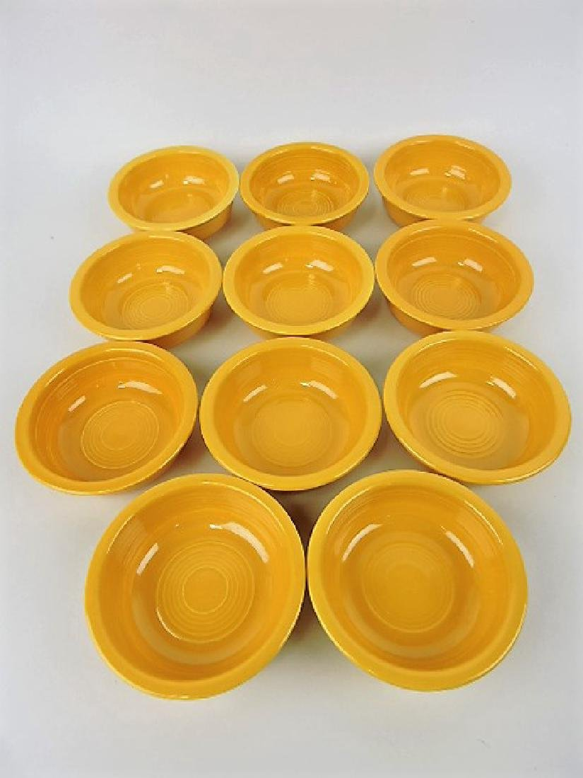 "Fiesta 4 3/4"" fruit bowl group, 11 yellow"