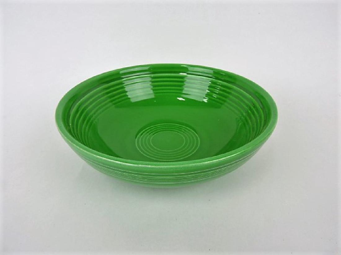 Fiesta individual salad bowl, medium green, nick